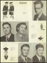 1951 Anton High School Yearbook Page 16 & 17