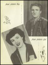 1951 Anton High School Yearbook Page 42 & 43