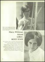 1972 French High School Yearbook Page 218 & 219