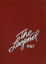 1987 Yearbook Robert E. Lee High School