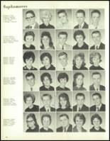 1964 Paris High School Yearbook Page 34 & 35