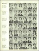 1964 Paris High School Yearbook Page 42 & 43