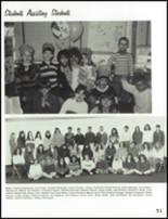 1993 Carmel High School Yearbook Page 54 & 55