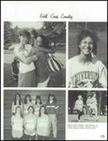 1993 Carmel High School Yearbook Page 76 & 77