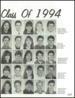 1993 Carmel High School Yearbook Page 120 & 121