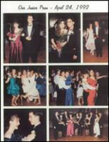1993 Carmel High School Yearbook Page 132 & 133