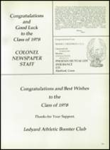 1978 Ledyard High School Yearbook Page 188 & 189