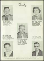 1958 Matfield Green High School Yearbook Page 10 & 11