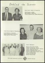 1958 Matfield Green High School Yearbook Page 12 & 13
