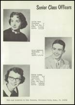 1958 Matfield Green High School Yearbook Page 16 & 17