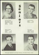 1958 Matfield Green High School Yearbook Page 18 & 19