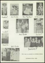 1958 Matfield Green High School Yearbook Page 20 & 21
