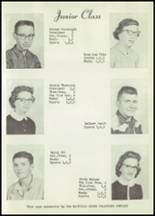1958 Matfield Green High School Yearbook Page 28 & 29