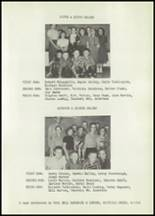 1958 Matfield Green High School Yearbook Page 58 & 59
