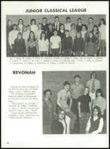 1971 Hanover Central High School Yearbook Page 52 & 53