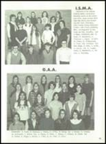1971 Hanover Central High School Yearbook Page 54 & 55