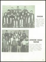 1971 Hanover Central High School Yearbook Page 58 & 59