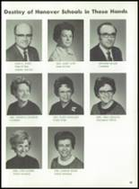 1971 Hanover Central High School Yearbook Page 92 & 93