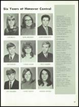 1971 Hanover Central High School Yearbook Page 100 & 101