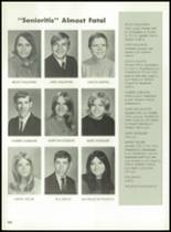 1971 Hanover Central High School Yearbook Page 106 & 107