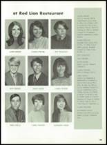1971 Hanover Central High School Yearbook Page 108 & 109