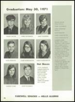 1971 Hanover Central High School Yearbook Page 110 & 111
