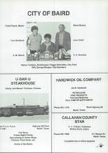 1988 Baird High School Yearbook Page 140 & 141