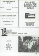 1988 Baird High School Yearbook Page 142 & 143