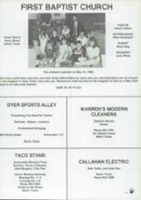 1988 Baird High School Yearbook Page 156 & 157