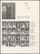 1980 Independence Christian High School Yearbook Page 44 & 45