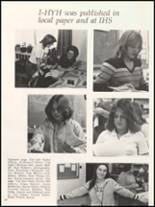 1980 Independence Christian High School Yearbook Page 94 & 95