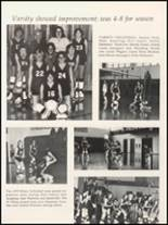 1980 Independence Christian High School Yearbook Page 124 & 125