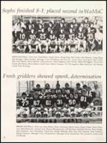 1980 Independence Christian High School Yearbook Page 128 & 129