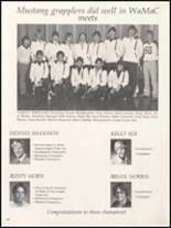 1980 Independence Christian High School Yearbook Page 136 & 137