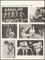 1980 Independence Christian High School Yearbook Page 154 & 155