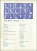 1942 New Albany High School Yearbook Page 16 & 17