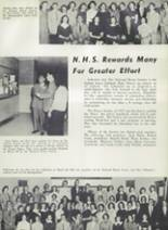 1957 Suitland High School Yearbook Page 110 & 111