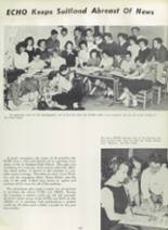 1957 Suitland High School Yearbook Page 112 & 113