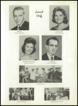1962 Model High School Yearbook Page 36 & 37