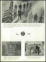 1962 Model High School Yearbook Page 42 & 43