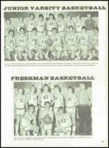 1984 Rib Lake High School Yearbook Page 66 & 67