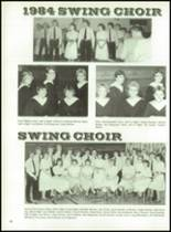1984 Rib Lake High School Yearbook Page 84 & 85