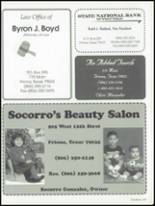 1999 Friona High School Yearbook Page 206 & 207