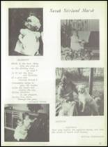 1975 Columbus School for Girls Yearbook Page 56 & 57