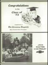 1975 Columbus School for Girls Yearbook Page 240 & 241