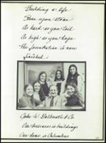 1975 Columbus School for Girls Yearbook Page 250 & 251