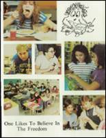 1984 Washington Township High School Yearbook Page 16 & 17