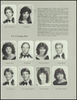 1984 Washington Township High School Yearbook Page 50 & 51