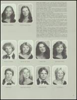 1984 Washington Township High School Yearbook Page 70 & 71