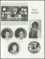 1984 Washington Township High School Yearbook Page 154 & 155